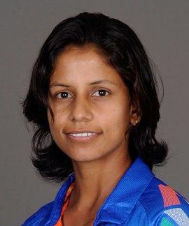 Poonam Yadav Profile Photo - Indian women's Cricket Player Poonam Yadav.