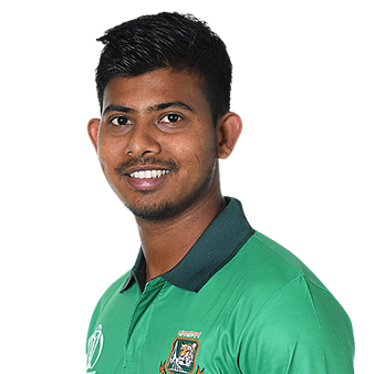 Mosaddek Hossain Profile Photo - Bangladeshi Cricketer Mosaddek Hossain's Wiki, Age, Bio, Cricket career stats, Records, ICC Ranking, Family along with latest Pictures, Images and News.
