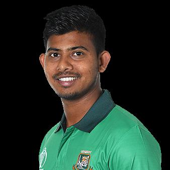 Mosaddek Hossain Profile Photo - Bangladeshi Cricketer Mosaddek Hossain's Wiki, Age, Bio, Cricket career stats, Records, ICC Ranking, Family along with latest Pictures, Images and News.