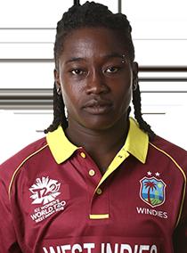 Deandra Dottin Profile Photo - West Indies women's Cricket Player Deandra Dottin.