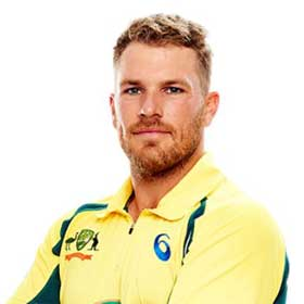 Aaron Finch Profile Photo - Australia Cricket Player Aaron Finch.