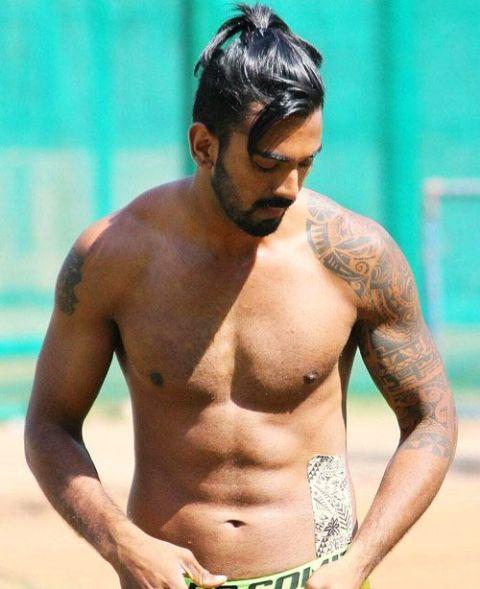 KL Rahul, whose full name (Kannur Lokesh Rahul) is an Indian international cricketer