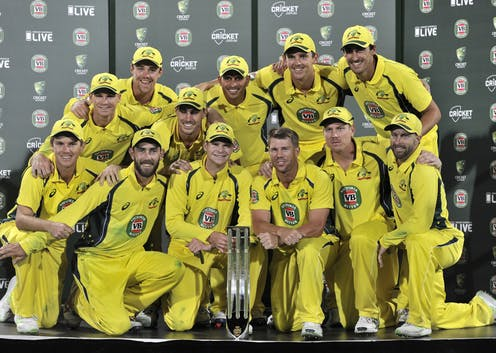 Australian cricketer celebrate after series win, See winning moments Picture.