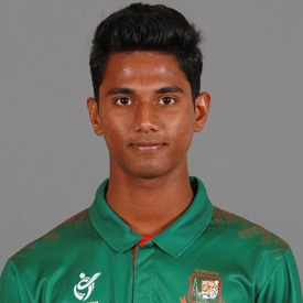 Hasan Mahmud Profile Photo - Bangladeshi Cricketer Hasan Mahmud's Wiki, Age, Bio, Cricket career stats, Records, ICC Ranking, Family along with latest Pictures, Images and News.