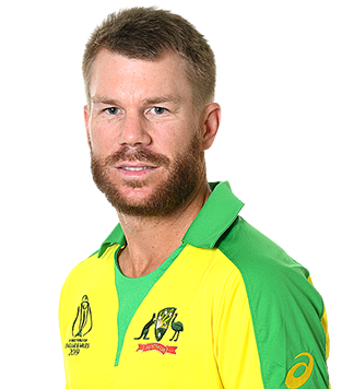 David Warner Profile Photo - Australian Cricket Player David Warner.