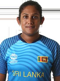 Chamari Atapattu Profile Photo - Sri Lankan women's Cricket Player Chamari Atapattu.