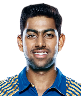 Jagadeesha Suchith Profile Photo - Indian Cricket Player Jagadeesha Suchith Stats Info, ICC Ranking, Records, Wiki, Family, Photos, News.