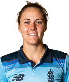 Natalie Sciver Profile Photo - English women's Cricket Player Natalie Sciver.