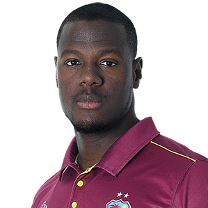 Carlos Brathwaite Profile Photo - West Indies Cricketer Carlos Brathwaite's Wiki, Age, Bio, Cricket career stats, Records, ICC Ranking, Family along with latest Pictures, Images and News.