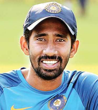 Wriddhiman Saha Profile Photo - Indian Cricketer Wriddhiman Saha Wiki, Age, Bio, Cricket career stats, Records, ICC Ranking, Family along with latest Pictures, Images and News.