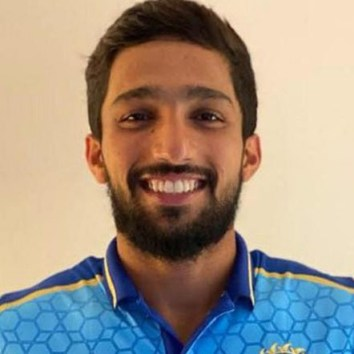 Mohammed Azharuddeen Profile Photo - Indian Cricketer Mohammed Azharuddeen's Wiki, Age, Bio, Cricket career stats, Records, ICC Ranking, Family along with latest Pictures, Images and News.