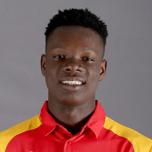 Blessing Muzarabani Profile Photo - Zimbabwean Cricketer Blessing Muzarabani's Wiki, Age, Bio, Cricket career stats, Records, ICC Ranking, Family along with latest Pictures, Images and News.