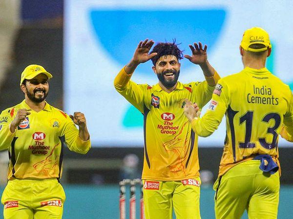 Ravindra Jadeja Photos of CSK Match