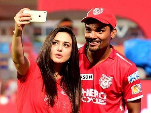 Sandeep Sharma with Prity Zinta