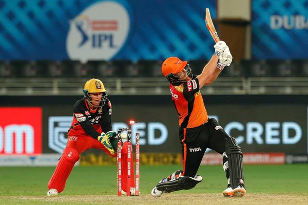 Jonny Bairstow of Sunrisers Hyderabad bowled by Yuzvendra Chahal of Royal Challengers Bangalore in IPL.