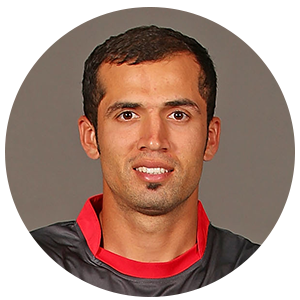 Rohan Mustafa Profile Photo - United Arab Emirates Cricket Player Rohan Mustafa.