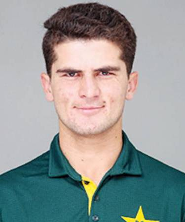 Shaheen Afridi Profile Photo - Pakistan Cricket Player Shaheen Afridi Stats Info, ICC Ranking, Records, Wiki, Family along with latest Images and News.
