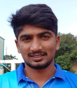 Harishankar Reddy Profile Photo - Indian Cricketer Harishankar Reddy's Wiki, Age, Bio, Cricket career stats, Records, ICC Ranking, Family along with latest Pictures, Images and News.