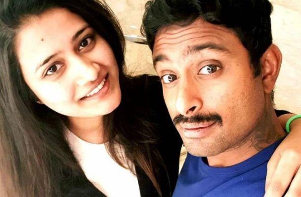Ambati Rayudu And Wife Chennupalli Vidya.