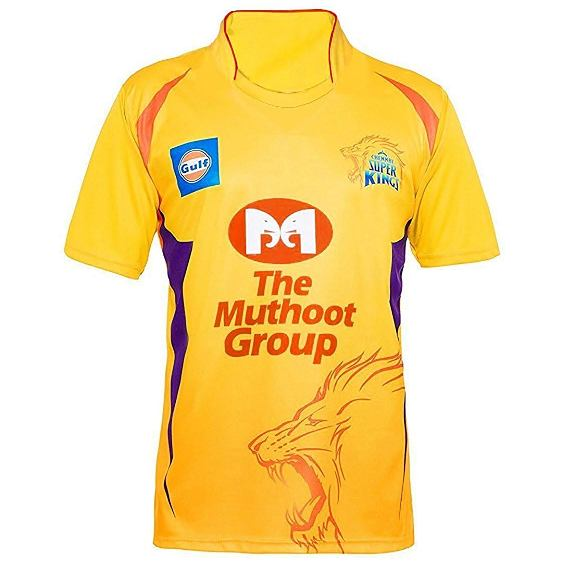 Chennai Super Kings team jersey