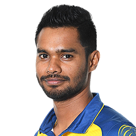 Dhananjaya de Silva Profile Photo - Sri Lankan Cricketer Dhananjaya de Silva's Wiki, Age, Bio, Cricket career stats, Records, ICC Ranking, Family along with latest Pictures, Images and News.