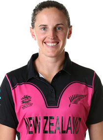 Amy Satterthwaite Profile Photo - New Zealand women's Cricket Player Amy Satterthwaite.