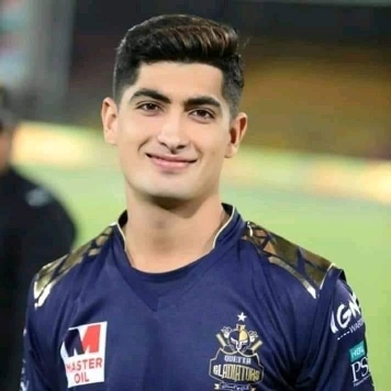 Naseem Shah Profile Photo - Pakistan Cricket Player Naseem Shah Stats Info, ICC Ranking, Records, Wiki, Family along with latest Images and News.