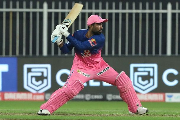 Rahul Tewatia hitting the most sixes in single over during in the Rajasthan Royals and Kings XI Punjab match. He equaled Chris Gayle's record.