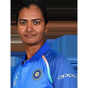 Shikha Pandey Profile Photo - Indian women's Cricket Player Shikha Pandey.