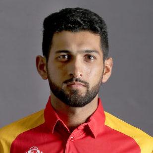 Sikandar Raza Profile Photo - Zimbabwean Cricket Player Sikandar Raza.