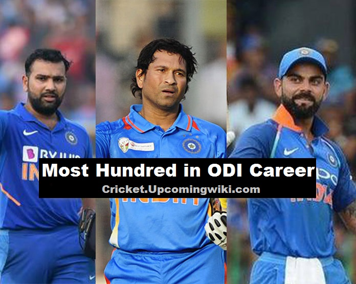 Most Hundred in ODI Career - Who scored most 100 / Most Centuries in ODI?