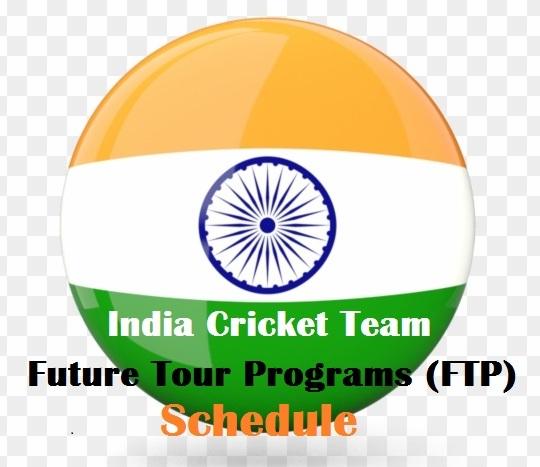 India Cricket Team Future Tour Programs (FTP) Schedule & Fixtures 2021 - 2023