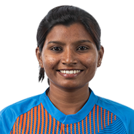 Rajeshwari Gayakwad Profile Photo - Indian women's Cricketer Rajeshwari Gayakwad Wiki, Age, Bio, Cricket career stats, Records, ICC Ranking, Family along with latest Pictures, Images and News.