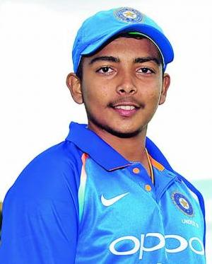 Prithvi Shaw Profile Photo - Indian Cricket Player Prithvi Shaw Career Stats Info, ICC Ranking, Records, Wiki, Family, Photos, News.