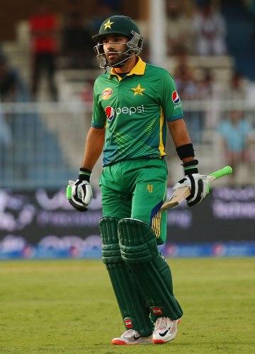 Mohammad Rizwan at the Cricket graund.