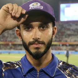 Mayank Markande Profile Photo - Indian Cricketer Mayank Markande Wiki, Age, Bio, Cricket career stats, Records, ICC Ranking, Family along with latest Pictures, Images and News.