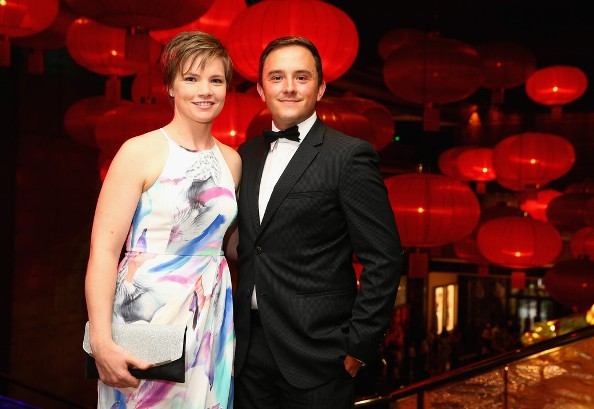 Jess Duffin with Chris Duffin
