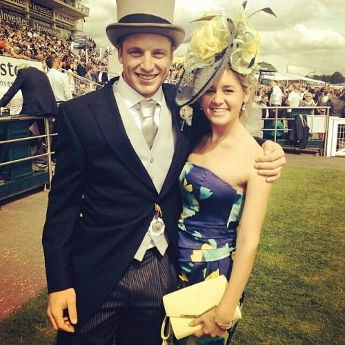 Jos Buttler with his Wife Louise Webber