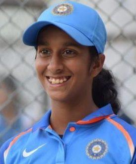 Jemimah Rodrigues Profile Photo - Indian women's Cricket Player Jemimah Rodrigues.