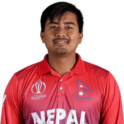 Gyanendra Malla Profile Photo - Nepalese Cricketer Gyanendra Malla's Wiki, Age, Bio, Cricket career stats, Records, ICC Ranking, Family along with latest Pictures, Images and News.