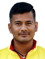 Abinash Bohara Profile Photo - Nepalese Cricketer Abinash Bohara's Wiki, Age, Bio, Cricket career stats, Records, ICC Ranking, Family along with latest Pictures, Images and News.
