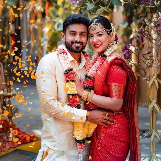 Indian Cricketer Karun Nair Marries Long-Time Girlfriend Sanaya Tankariwala on 19 January 2020.