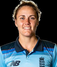 Natalie Sciver Profile Photo - English women's Cricket Player Natalie Sciver.
