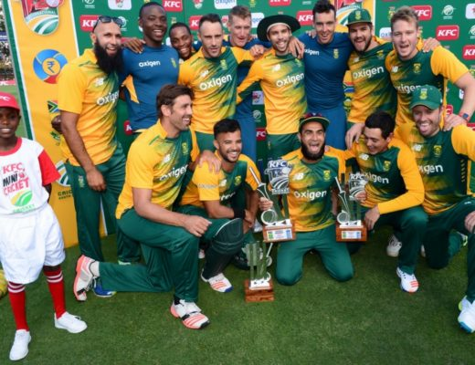 South Africa national cricket team celebrate after series win, See celebrating moments Picture.