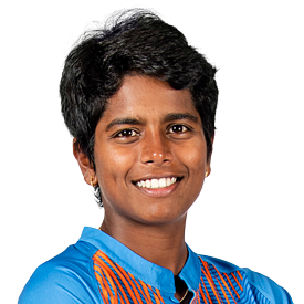 Arundhati Reddy Profile Photo - Indian women's Cricketer Arundhati Reddy Wiki, Age, Bio, Cricket career stats, Records, ICC Ranking, Family along with latest Pictures, Images and News.
