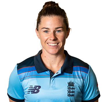 Tammy Beaumont Profile Photo - English women's Cricket Player Tammy Beaumont.