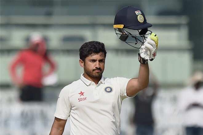 India Cricketer Karun Nair Picture