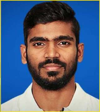 Srikar Bharat Profile Photo - Indian Cricketer Srikar Bharat's Wiki, Age, Bio, Cricket career stats, Records, ICC Ranking, Family along with latest Pictures, Images and News.