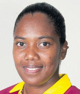 Afy Fletcher Profile Photo - West Indies women's Cricket Player Afy Fletcher.