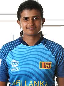Shashikala Siriwardene Profile Photo - Sri Lankan women's Cricket Player Shashikala Siriwardene.